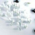 plastic pipe fittings and clips