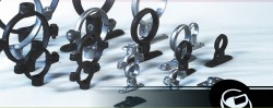 malleable pipe clamps