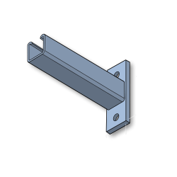 150mm GALVANISED CANTILEVER ARM