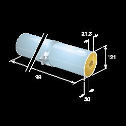 50mm Phenolic Block Pipe Supports
