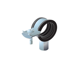 15mm Rubber Lined BZP Pipe Clip